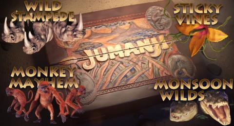 Jumanji spillemaskine hos Unibet Casino
